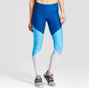 Champion C9 Freedom Blue Stripe Colorblock Legging